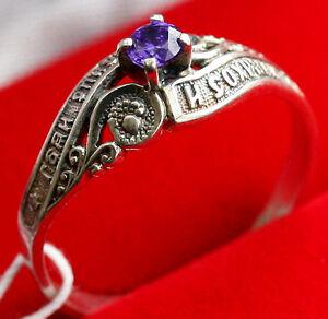 russian orthodox prayer ring 925 silver christian