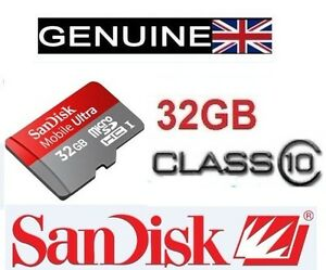 SanDisk-Mobile-ultra-32GB-micro-SD-SDHC-Class-10-Memory-card-Retail-Packaging