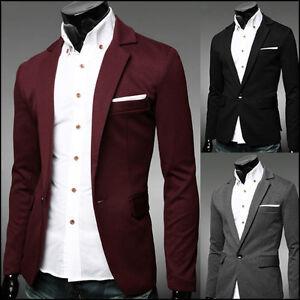 FR5609-Men-039-s-Slim-Jackets-CHANDKERCHIEF-JERSEY-Casual-Dandy-Slim-Fit-jacket-5Clr