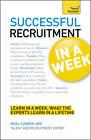 Successful Recruitment in a Week: Teach Yourself by Nigel Cumberland (Paperback, 2012)
