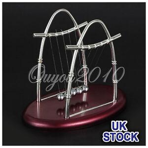 Newtons-Cradle-Executive-Balance-Balls-Physics-Science-Pendulum-Desk-Toy-Gadget