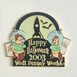 Disney-WDW-Halloween-Trick-Treat-Chip-amp-Dale-Artist-Proof-AP-Pin