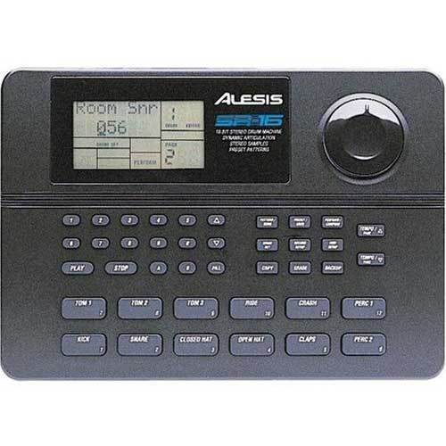 alesis sr16 digital drum machine ebay. Black Bedroom Furniture Sets. Home Design Ideas