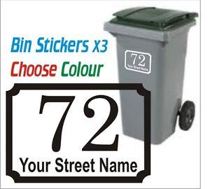 3x-Wheelie-Bin-Personalised-Sticker-Decal-NUMBER-STREET
