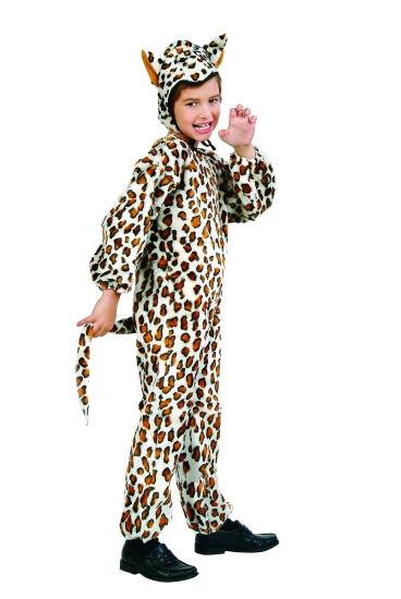 LEOPARD CHILD COSTUME CAT CHEETAH PLUSH JUNGLE ZOO ANIMAL KIDS JUMPSUIT 70073