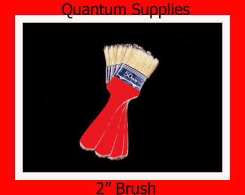 "FOR FIBREGLASS moulds RESIN  GRP WORK 5 x   2/"" BRUSHES"