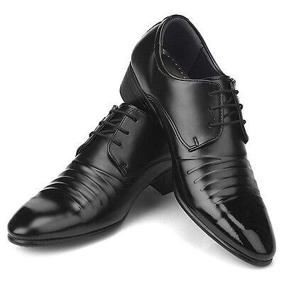 Novamall New Mens Italian Style Dress Casual Shoes Black