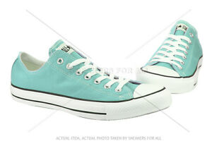CONVERSE-ALL-STAR-CHUCK-TAYLOR-LOW-130118F-CT-AS-OX-ARUBA-BLUE-WOMEN-SIZE-SHOES