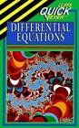 Quick Review Differential Equations by Steven A. Leduc (Paperback, 1995)