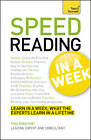 Speed Reading in a Week by Tina Konstant (Paperback, 2012)
