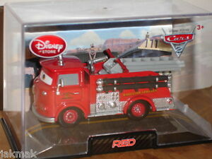 Pixar-CARS-2-Disney-Store-RED-The-Fire-Engine-Exclusive-Truck-New