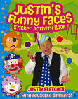 Justin's Funny Faces Sticker Activity Book by Justin Fletcher (Paperback, 2012)