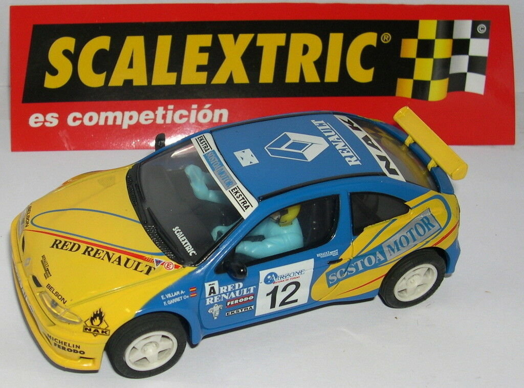 SCALEXTRIC RENAULT MAXI MAXI MAXI MEGANE KIT CAR  12  VILLAR   ONLY IN SETS.MINT UNBOXED 9a6fc6