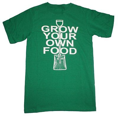 Grow Your Own Food Retro Men's T-shirt