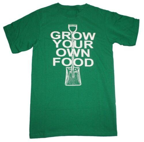 Grow Your Own Food Retro Men's T-shirt