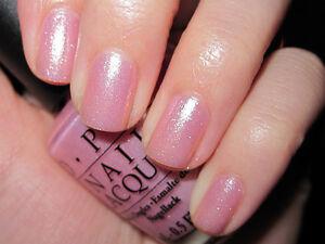 Opi Princess Rule Sheer Pale Pink Shimmer Nail Lacquer Polish Ebay