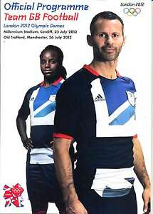 OLYMPIC GAMES LONDON 2012 TEAM GB v SENEGAL FOOTBALL OFFICIAL PROGRAMME