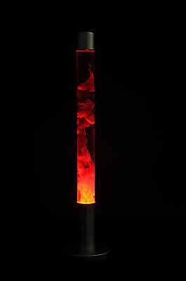 Magmaleuchte Lavalampe Säule 76 cm rot - gelb - Lava - Lampe