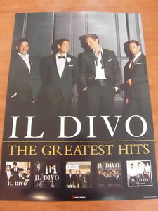 Il divo the greatest hits b ver official poster - Il divo greatest hits ...