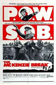 MCKENZIE-BREAK-1971-original-27x41-U-S-Movie-Poster-BRIAN-KEITH-Nazi