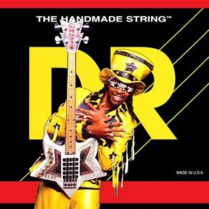 Details about DR BZ,45 Bootzillas Coated Bootsy Collins Bass Guitar Strings  45,105