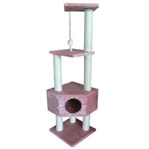 BestPet-Pink-52-034-CAT-TREE-CONDO-FURNITURE-SCRATCHPOST-PET-HOUSE-67P
