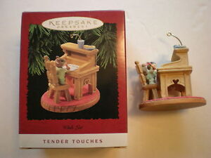 Hallmark-Ornament-NIB-Wish-List-Tender-Touches-1995