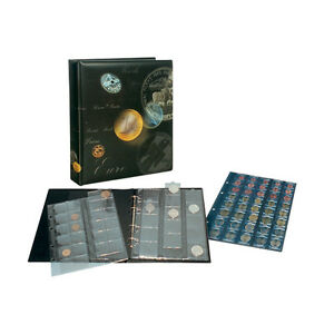 ARTLINE-Safe-album-de-monedas-para-134-monedas-incl-4-ARTLINE-hojas-NUEVO