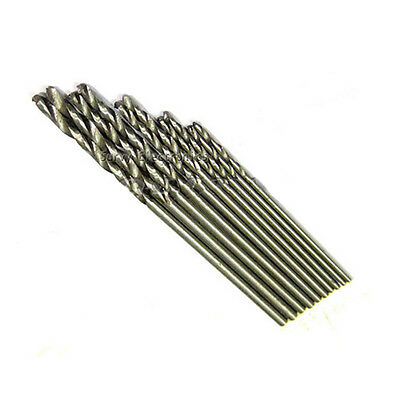 Mini PCB Drill 2x0.7mm 2x0.8mm 2x1.0mm 2x1.2mm 2x1.4mm Press Drilling Bits 10pcs