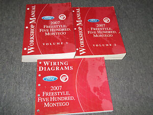 ford freestyle manual 2007