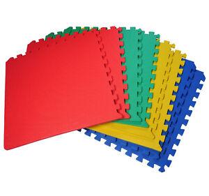 Image Is Loading 32 SQ FT Eva Interlocking Foam Mat Tiles
