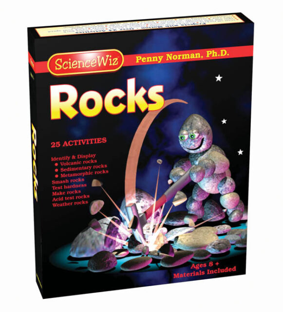 SCIENCEWIZ ROCKS AND GEOLOGY KIDS EDUCATIONAL SCIENCE PROJECTS & ACTIVITY KIT