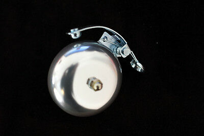 Klingel Retro Style Rennrad Glocke eloxiert rot blau silber schwarz gold bronze