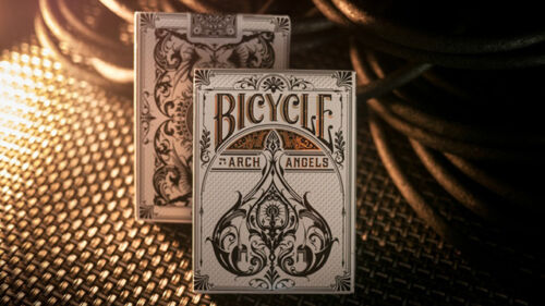ARCHANGELS BICYCLE PLAYING CARDS THEORY11 ECO FRIENDLY MYTHOLOGY GOLD FOIL MAGIC