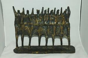 Krishna-Reddy-Abstract-Dancing-Woman-Cast-Bronze-Resin-Sculpture-Signed-1969