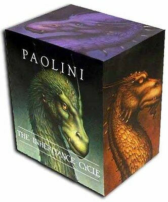 Inheritance Cycle Collection Christopher Paolini 4 Books Box Set HB Pack Eragon