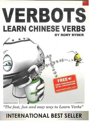 Verbots: Learn Chinese Verbs (Was Learn 101 Chinese Verbs in a Day)-ExLibrary