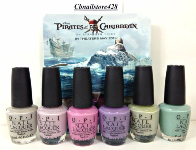 OPI Nail Lacquer- Pirates of The Caribbean Collection- Pick any color