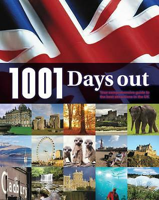 """AS NEW"" unknown, 1001 Days Out, Paperback Book"