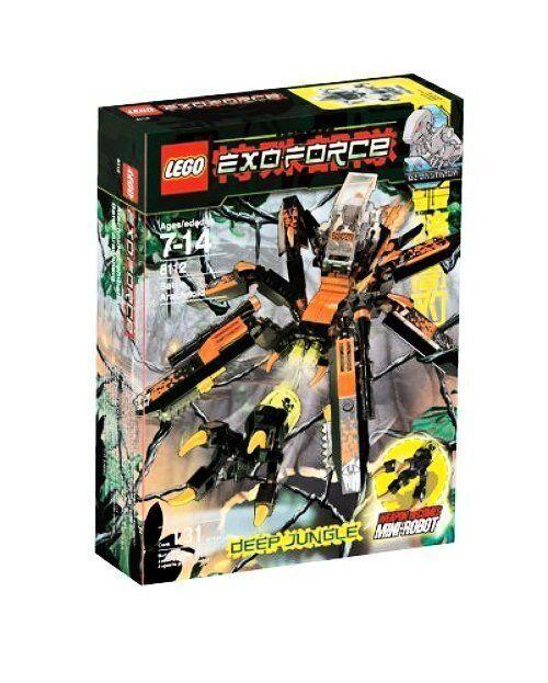 LEGO Exo-Force 8112 Arachnoid Stalker nuovo Sealed   per il tuo stile di gioco ai prezzi più bassi