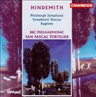 Hindemith: Symphonic Dances/Ragtime/Pittsburg Symphony (CD, May-1997, Chandos)