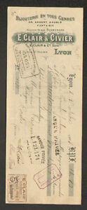 LYON-69-BIJOUTERIE-034-E-CLAIR-amp-CIVIER-034-en-1908