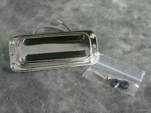 NEW RICKENBACKER BASS CHROME TOASTER VINTAGE PICKUP WITH COVER 4001C64 4003