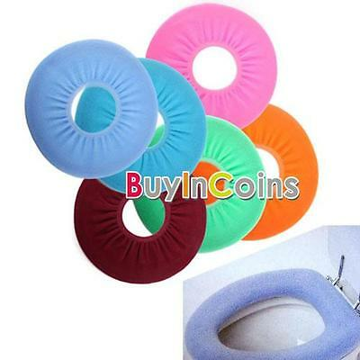 Home Tools Warmer Toilet Closestool Washable Soft Seat Cover Pads Cushion RTUS