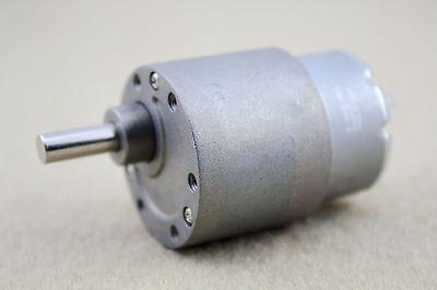 37mm 12V DC 3.5 RPM High Torque Gear Box Electric Motor New
