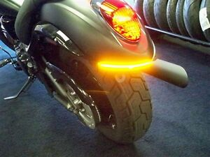KAWASAKI-VN900-CUSTOM-2007-2012-LED-INTEGRATED-TURN-SIGNAL-BAR