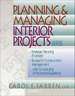 Planning & Managing Interior Projects by Carol E. Farren (Paperback, 1999)