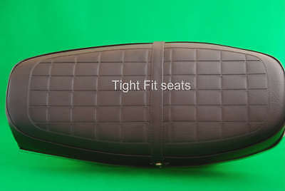 Motorcycle Seat Cover Complete With Strap - HONDA CB450 K5/7 - NO HONDA LOGO