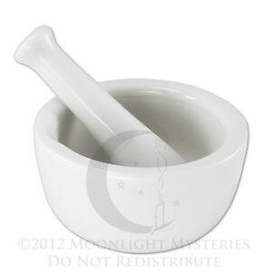Small-White-Porcelain-Mortar-and-Pestle-Pharmacy-Nurse
