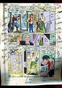 MISTER MIRACLE 11 PAGE 04 COLOR GUIDE-ORIGINAL ART-1 OF A KIND-WEIN-PHILLIPS